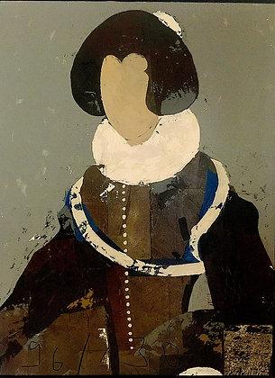 No 0218 - Huile sur toile - 133 x 100cm - 180CHF/mois