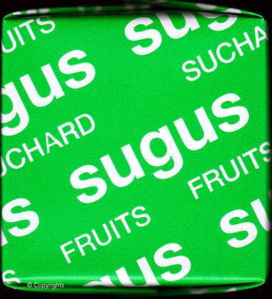 SUGUS  VERT   ( Green Sugus )