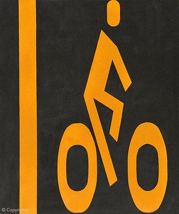PISTE CYCLABLE   ( Bike path )