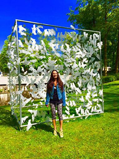 D  Vue installation d'une structure cubi
