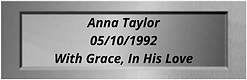 Anna Taylor 05101992 With Grace, In His