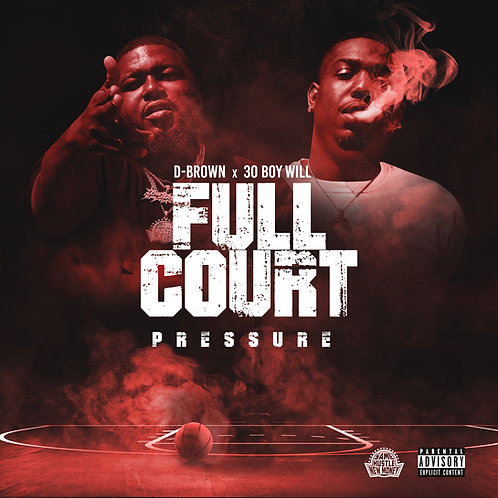 Signed physical copy of Full Court Pressure