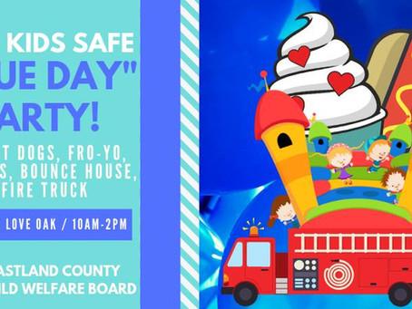 "Keep Kids Safe ""Blue Day"""