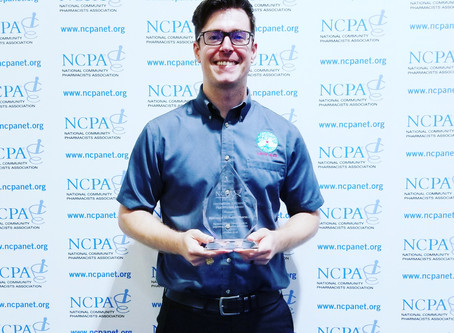 News Releases: McNabb earns NCPA Outstanding Adherence Practitioner Award