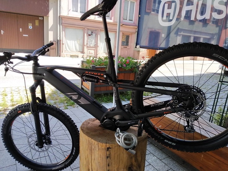 VTT  E seven Trailray 1LTD 2.0  Raymon bikes 2020
