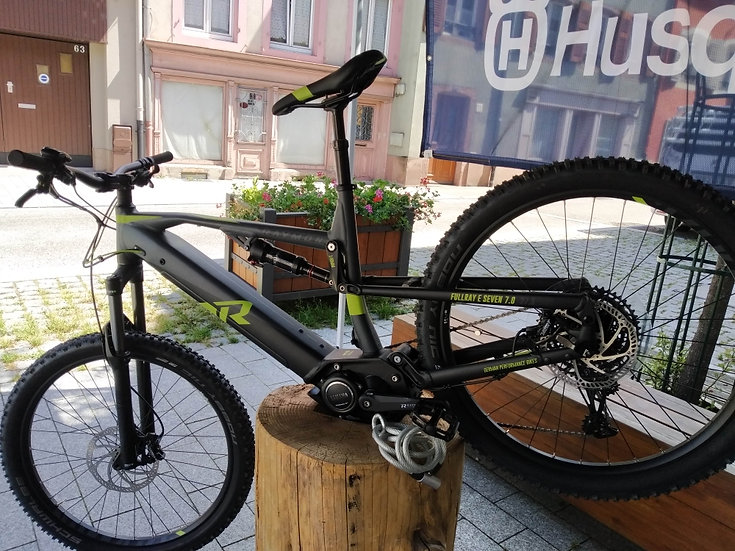 VTT Full Ray E seven 7.0  Raymon bikes 2020