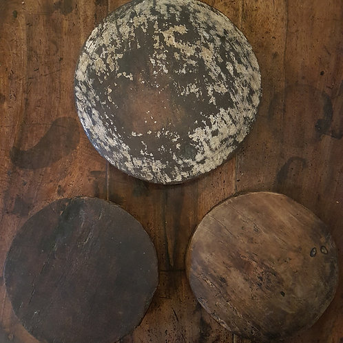 Wooden Chapati Plates