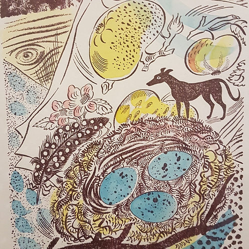 'Nest' print by Emily Sutton