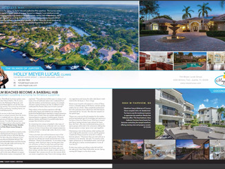 "The Meyer Lucas Group Featured in HAVEN Magazine Article: ""The Palm Beaches Become A Baseball H"