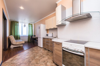 Clever house однокомнатная квартира с отдельной кухней