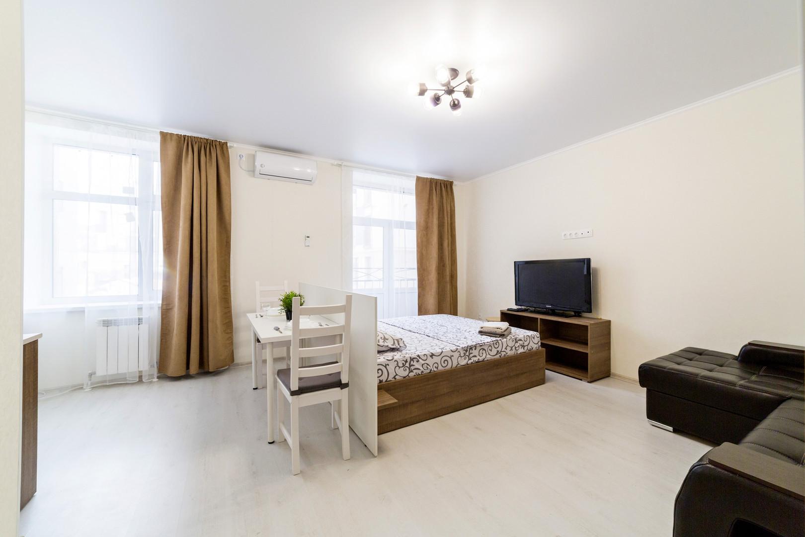 Студия Апартаменты на Бауманань