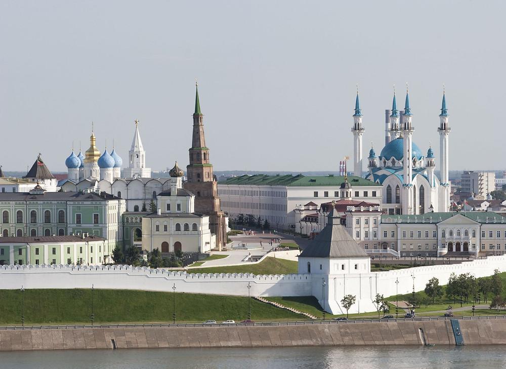 Кремль Казань, где останоиться вказани