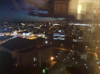 Студия с видом на город Казань