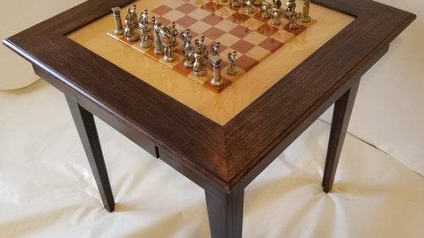 Combination Domino and Chess Table