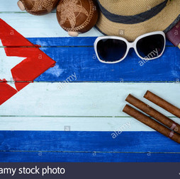 Cuban Cigars and Hat 0116