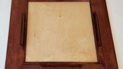 Red Oak Domino Table