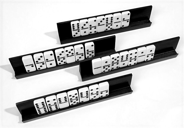 Tabacco Finished Domino Racks