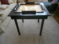 Square Leg Domino Table
