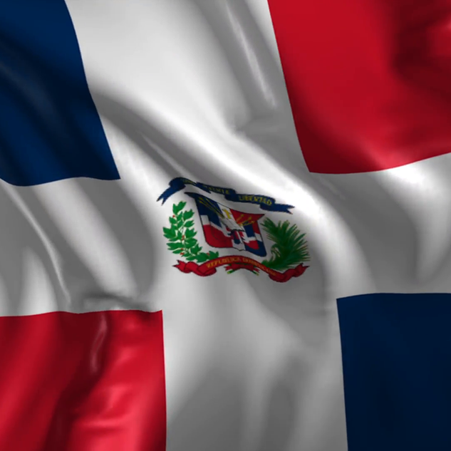 Flag of the Dominican Republic 010
