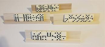 unfinished domino racks