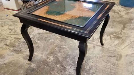Azul Copper Domino Table