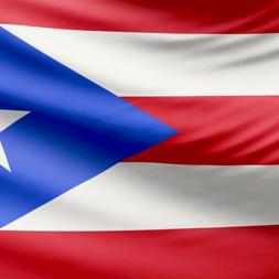 Puerto Rico Waving Flag 004