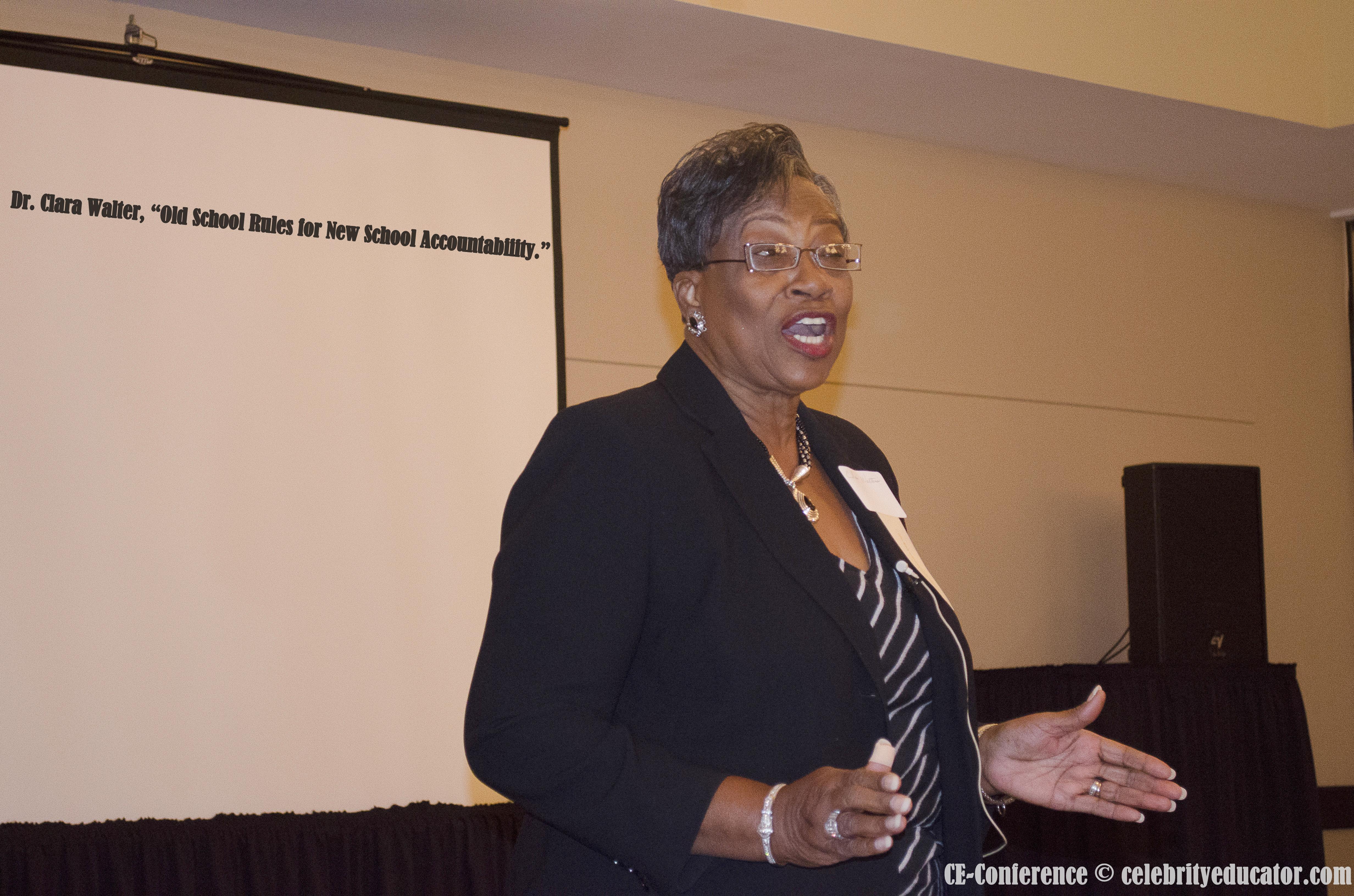 Dr. C. Walters CE Speaker