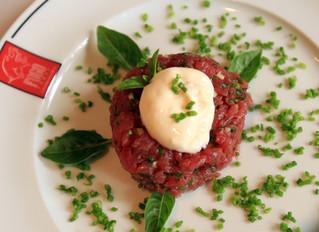 Sabor inigualável. Conheça nosso steak tartare!