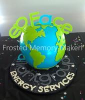 3D Global cake