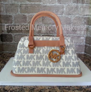 3D Michael Kors Purse Cake