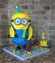 Standing Minion Cake
