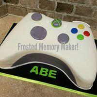 3D X Box Controller cake