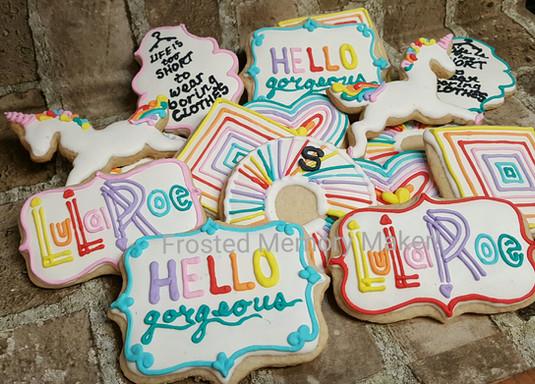 LuLaRoe cookies