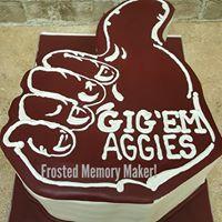 Texas A&M Graduation cake