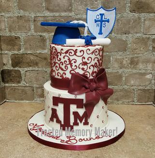 Concordia Lutheran High School Gradution cake