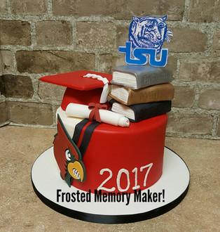 Bellaire High School Graduation cake
