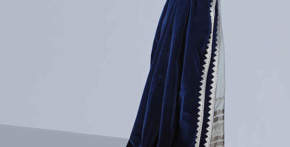 AUDIENCE, manteau de robe à traîne en velours,adapté à tousmodèles de robes