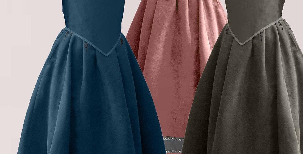 Basquine avec jupe, gamme Tralala