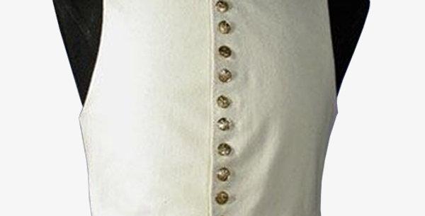Gilet coton blanc