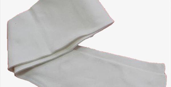 Bas blanc coton