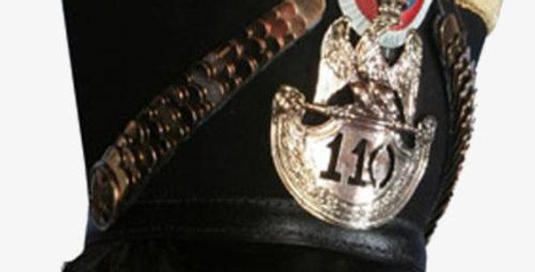 Shako, Officier d'Infanterie de ligne