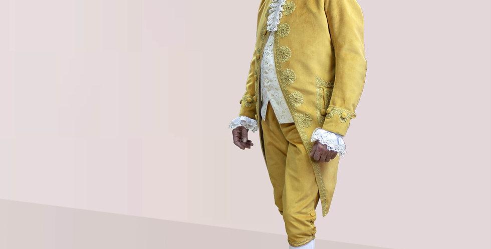 COURTISAN, la tenue à la Française au somment de la mode au XVIIIe