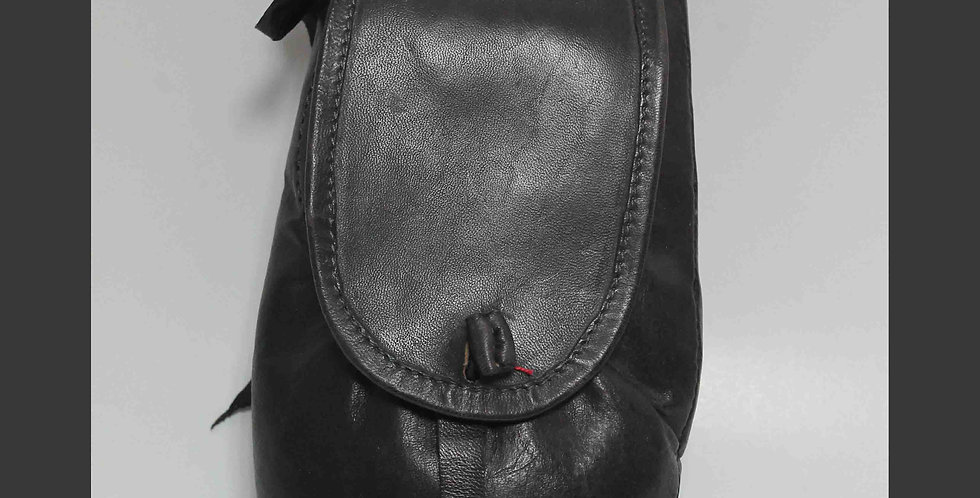Escarcelle Aubergine, H 30 cm