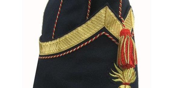 Bonnet de police, Sous-officier des Grenadiers à Pied de la Garde Impériale