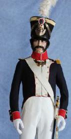 Officier d'Infanterie de la ligne, 1812