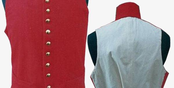 Gilet avec col en drap (choix de couleur)