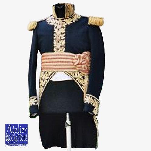 Habit d'Officier Général en petit uniforme