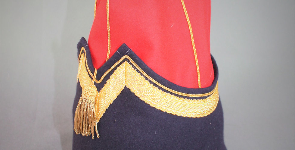Bonnet de police, Régiment de Hussard, Officier