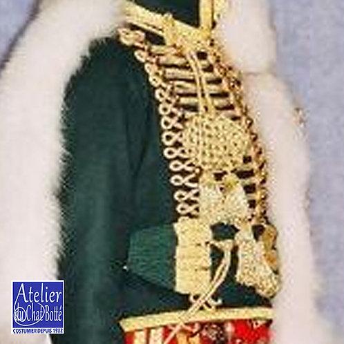 Dolman de Chasseurs àcheval de la Garde Impériale, Officier