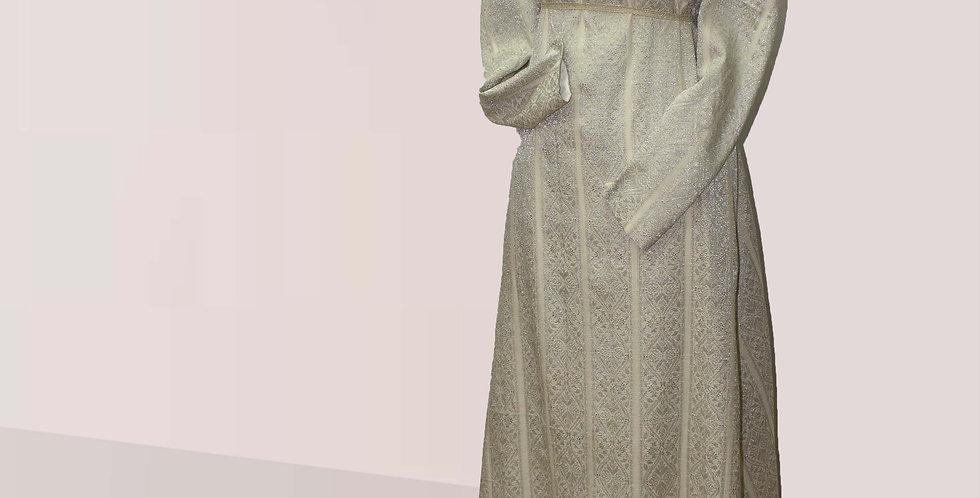 ELEGANTE, Robe de jour d'une grande éléganceen société, manches longues